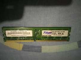 Memoria ram ddr2 de 2gb - PC escritorio