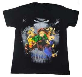 Camiseta Demon Slayer, Kimetsu no Yaiba, Anime comics