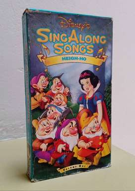 Cinta VHS Disney Blanca Nieves Y Los Siete Enanitos Original