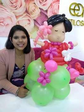 Curso de decoración con globos en Cordoba