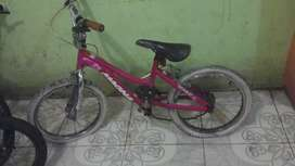 Bicicleta de niña aro 18