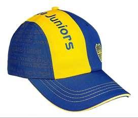 Gorra con tela amarilla de camiseta Boca Juniors Licencia Oficial