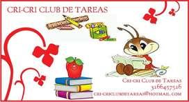 Cricri Club de Tareas.