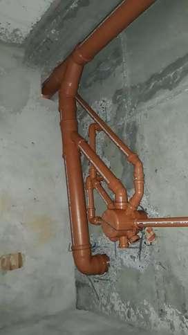 Instalaciones sanitarias y gas en general