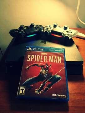 PlayStation 4 - 1 TB + 2 controles originales + juego físico + Varios Juegos digitales