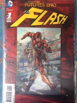 DC New 52 futures end, Comic Flash en ingles