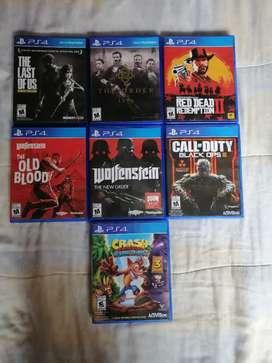 Venta de video juegos.