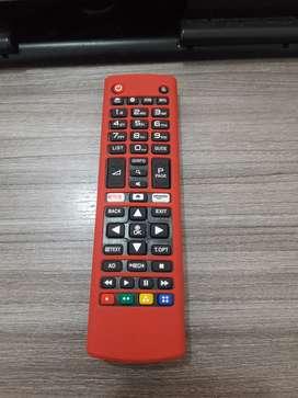 Forro control remoto LG AKB