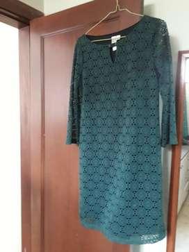 Vestido Verde Olivo Talla M