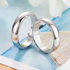 Aros Oro 18k Matrimonio Boda Aniversario Anillo Plata DIA DEL PADREmama regalo dia de la madre