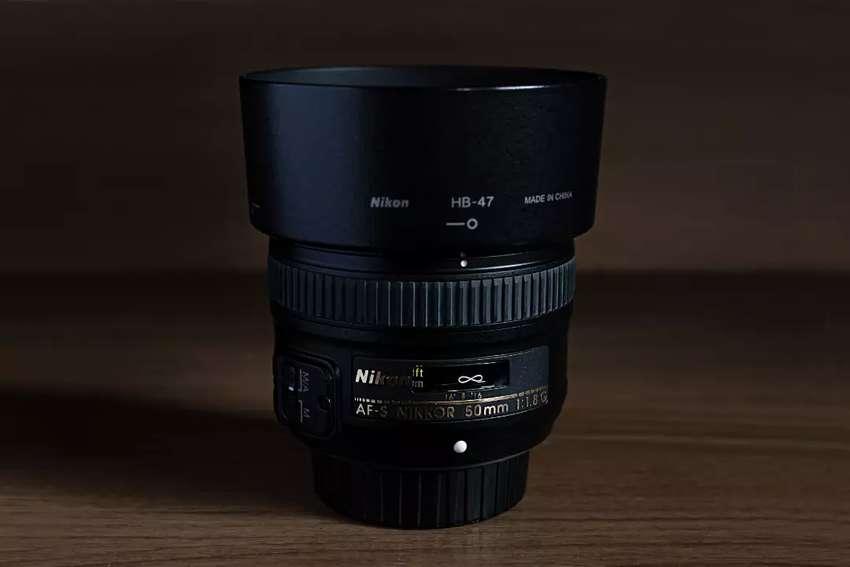 Vendo Lente 50 mm 1.8g Nikon 0