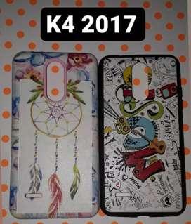 Funda k4 2017 Nueva sin uso Vidrio templado de regalo