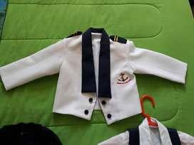 Lindo conjunto de marinero bebe