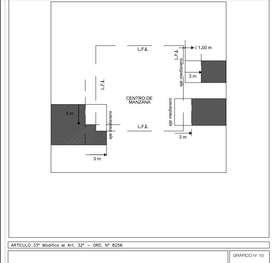 Barrio Talleres Este: Terreno amplio a mts de Avenida Las Malvinas con casa de 2 dormitorios a refaccionar! Oportunidad