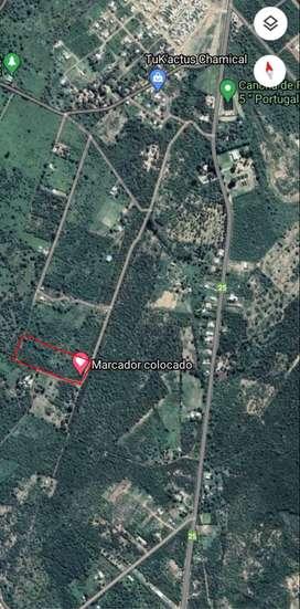 Vendo terreno en chamical 10.500m2