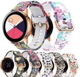 Correa repuesto reloj Samsung galaxy active y active 2