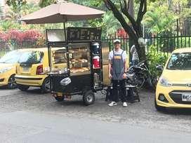 Negocio rentable trailer panadería