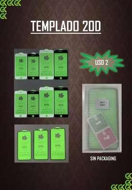 Vidrio templados para iphone 20D