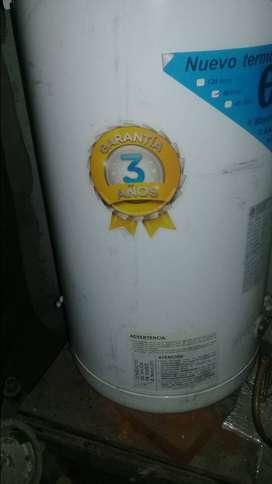 Vendo urgente.termotanque a gas escoreal de 80 litros!!