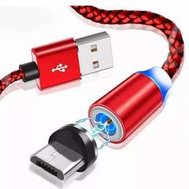 Cable cargador Magnético USB