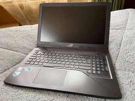 Portátil Gaming Asus Rog Strix 16Gb GTX 1050 nvme 500gb GL503VD