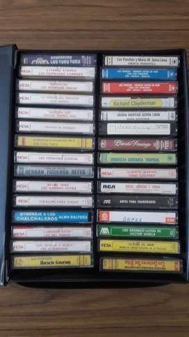 30 Cassettes Distintos Ritmos