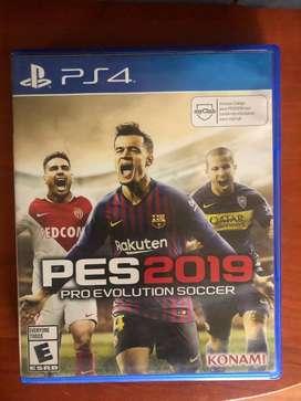Pes2019 para PS4