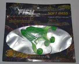 Señuelo rana verde pesca