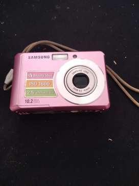 Camara de fotografia no adaptador