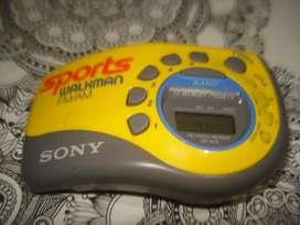 Radio Am/fm Digital Sony Walkman Srf M78 Exc No Envio