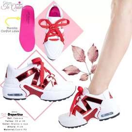 Zapatos deportivos para mujer tallas desde 34 al 40