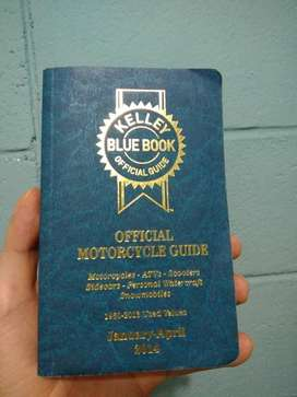 Manual Oficial de Motocicletas Kelley Blue Book 2014