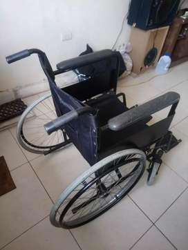 Vendo una silla de rueda del 1 al 10 9