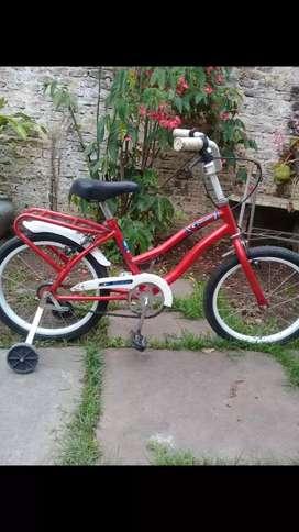 Hermosa bici rodado 16