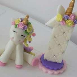Unicornio para Torta Cumpleaños