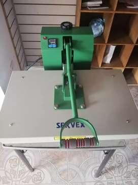 Maquina termofijadora
