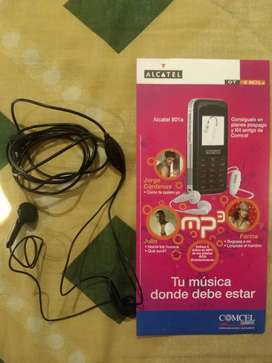 Audífonos originales Alcatel