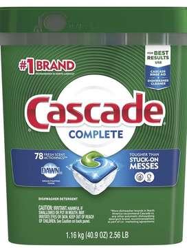 Cascade complete jabón lavavajillas