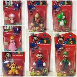 Muñecos de Super Mario Bros