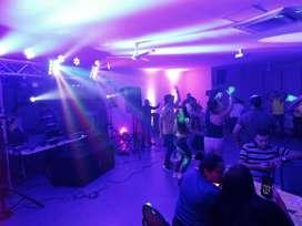 Alquiler de Sonido, Luces con DJ y Animación para fiestas y celebraciones
