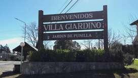 Vendo lotes en Villa Giardino con Facilidades