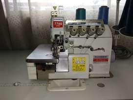 Máquina fileteadora industrial marca Kansew