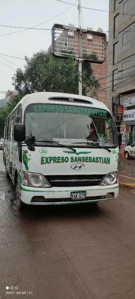 Venta de bus con ruta en expreso San Sebastián