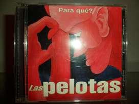 Las Pelotas para que cd original