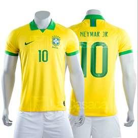 Camiseta Original Seleccion Brasil Local Neymar Jr Brazil futbol