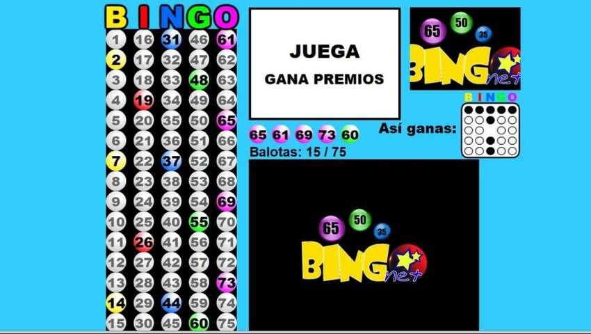 Alquiler Bingo Virtual y Presencial - Sonido
