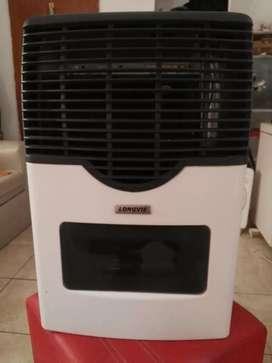 Calefactor Longvie con visor.