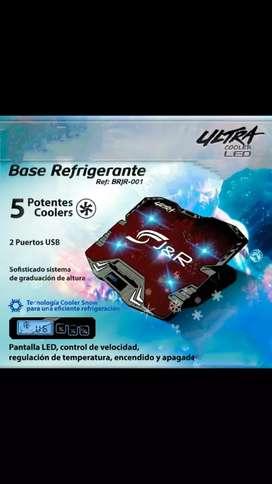 Base refrigerantes para portátil