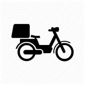 Se busca repartidor con Bici o moto para delivery. Horario flex. CABA