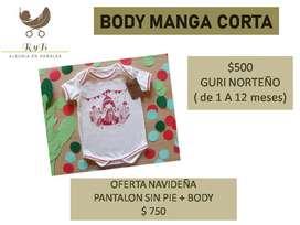 Bodys diseños únicos para bebes